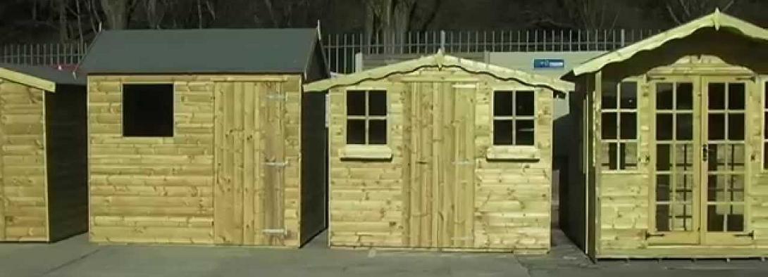 timberland sheds