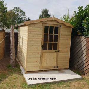 Log Lap Georgian Apex